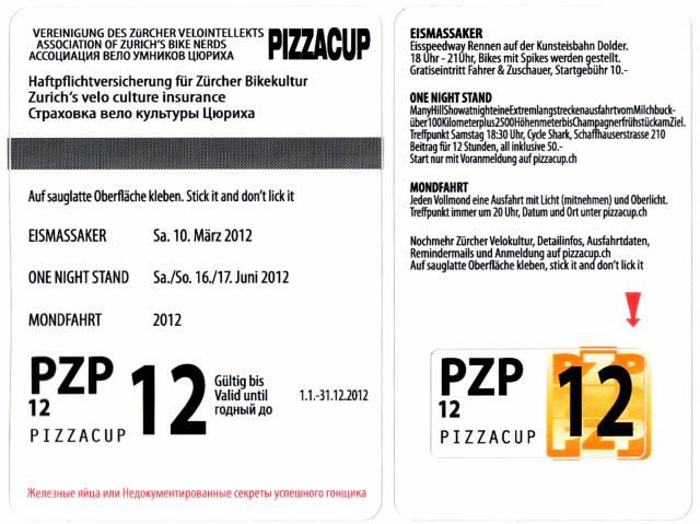 Pizza Cup Programm 2012